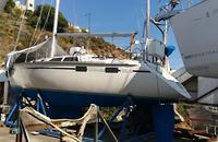 1985 Hunter 355 costero