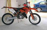 2006 KTM EXC Exc 125