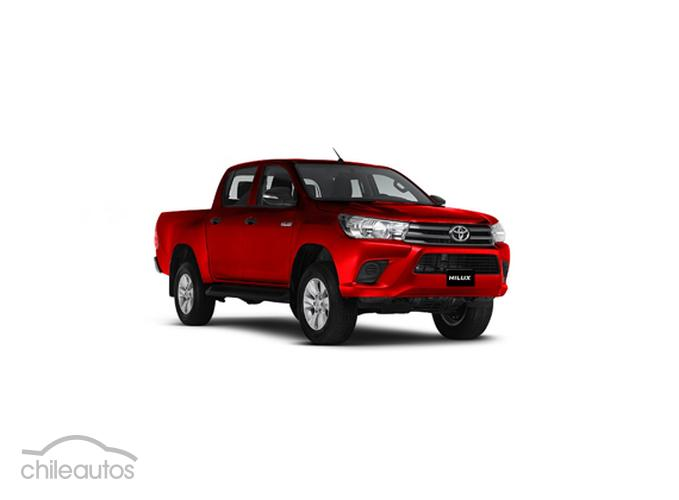 2019 Toyota Hilux 2.4D Manual DX 4WD